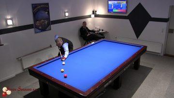 Elitedivision 3 Bande 14 okt 2017 Michael Hansen Bk2004 vs Flemming Groos Randers