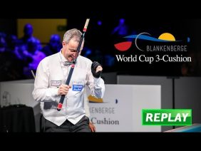 Best of World Cup 3 Cushion Blankenberge 2018