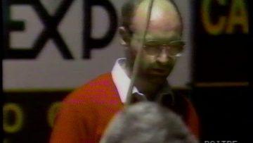 Henrik Ryholt spiller 5 kegle billard i Italien 1990